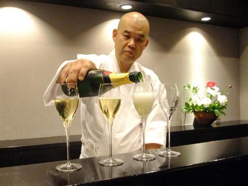 八泉最新シャンパン