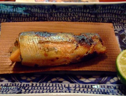 美山荘昼焼き魚