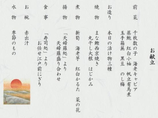 紀尾井献立ブログ