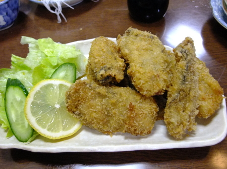 魚清牡蠣フライ