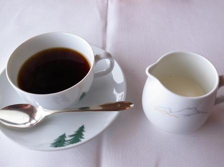 赤観昼食コーヒー