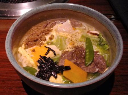 叙々苑温麺