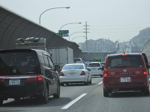 9)R高速大渋滞