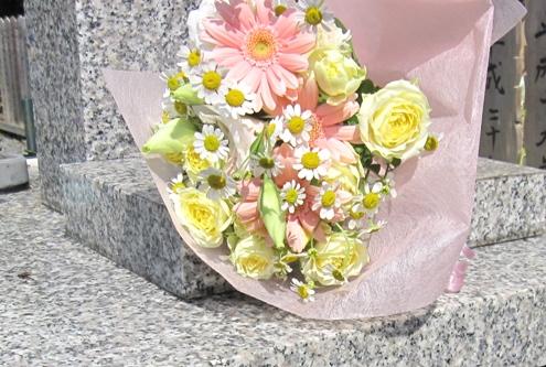 55)くろう太のお花