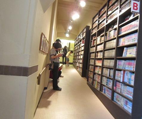 5通路もマンガ書棚