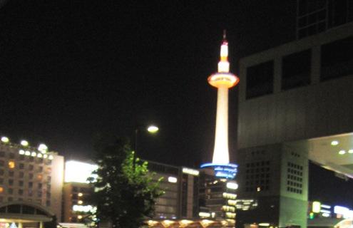 6)京都タワー