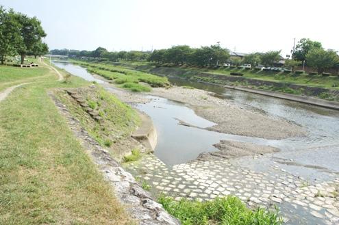 2)高野川上流へ
