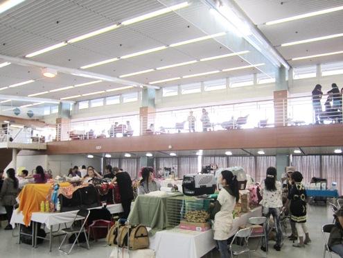 7)ショー会場の中2階で豪華ランチ