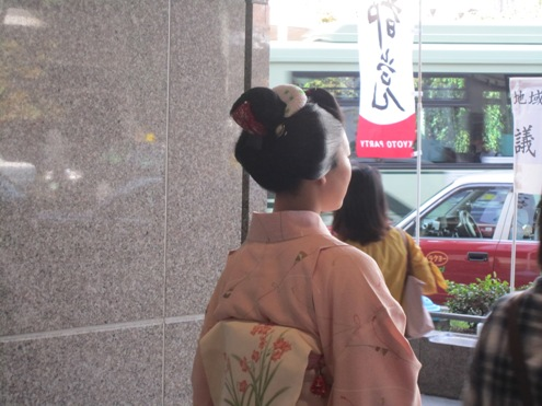 9)今年初めて見た舞子さん