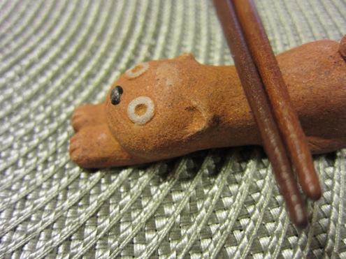 1)にゃんこの箸おき