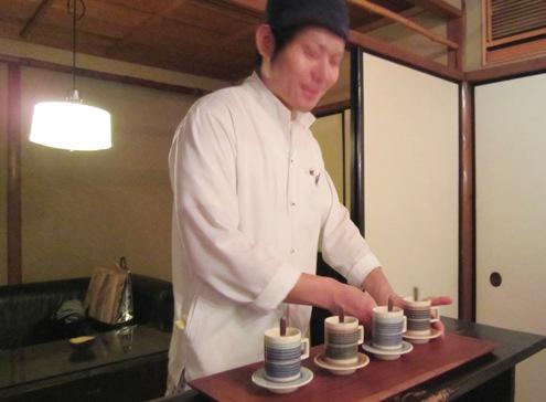 8)すっぽんのスープ登場