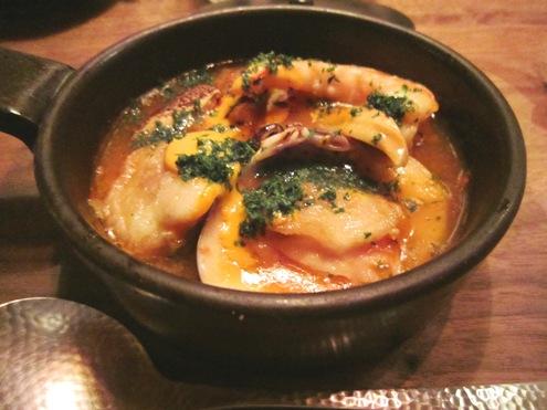 12)松茸のブイヤベース