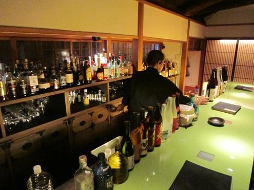 25)お茶屋さんのバー
