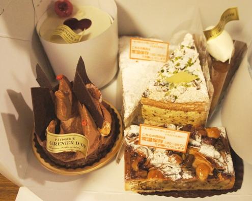 15)すばらしくおいしいケーキ