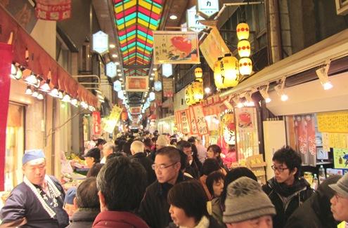 14)大晦日の錦市場
