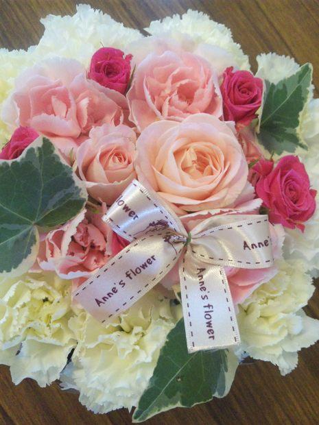 3)お花のケーキ