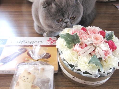 5)お花のケーキですよ