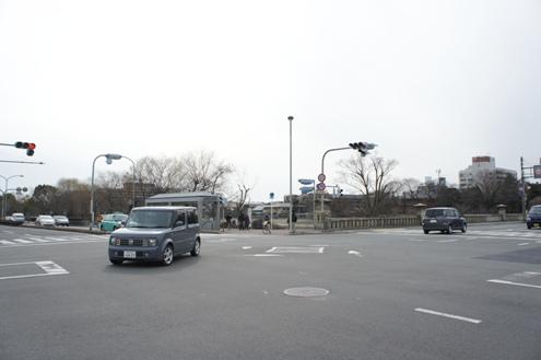 7)川端通り今出川交差点