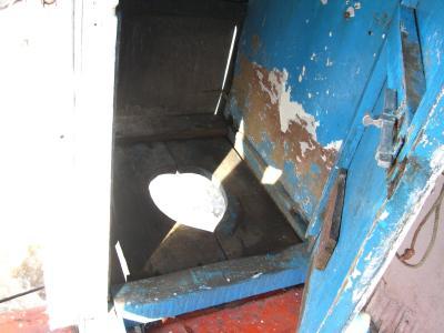 船のトイレ