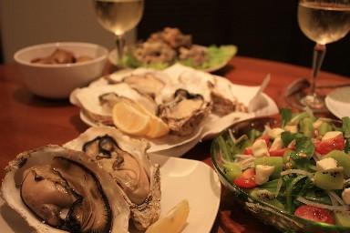 2013結婚記念昆布森牡蠣の食卓