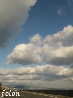 淡路島の空♪