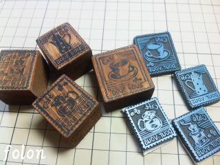 切手風はんこたくさん01