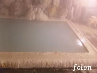 白濁の温泉~♪
