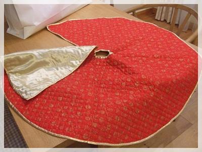 手作りツリースカート