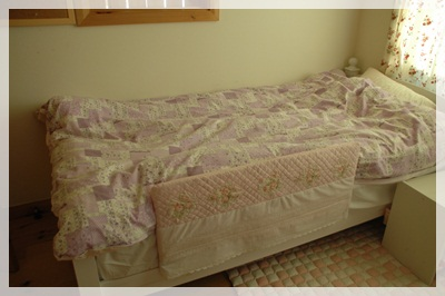 ベッドガードカバー