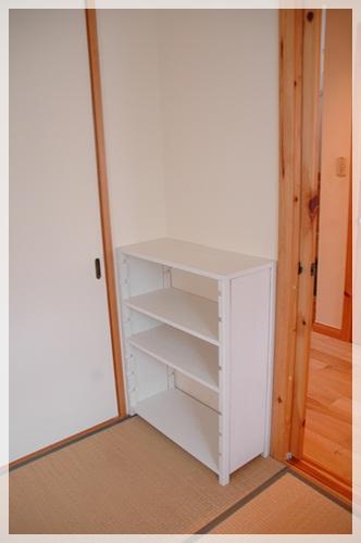 手作り収納棚2