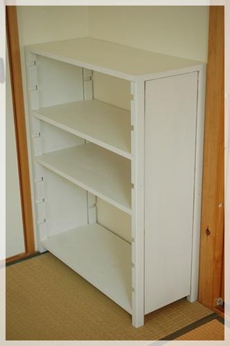 手作り収納棚