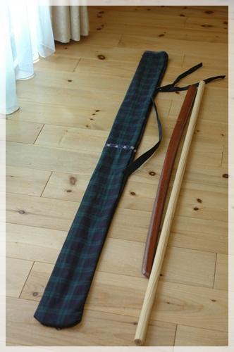 手作り木刀袋3