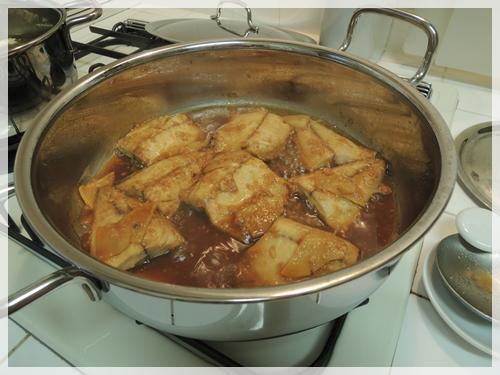 サバの味噌煮つくり2