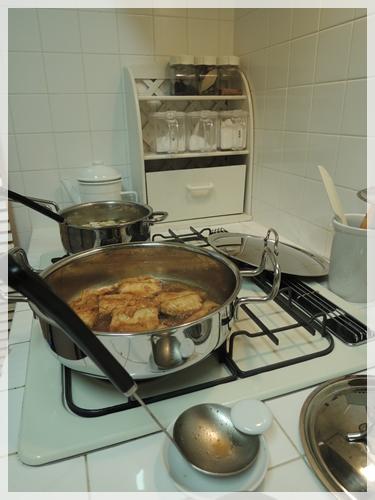 サバの味噌煮つくり