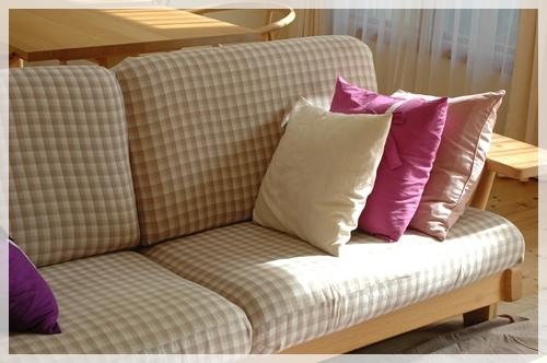 新しいソファーカバー2
