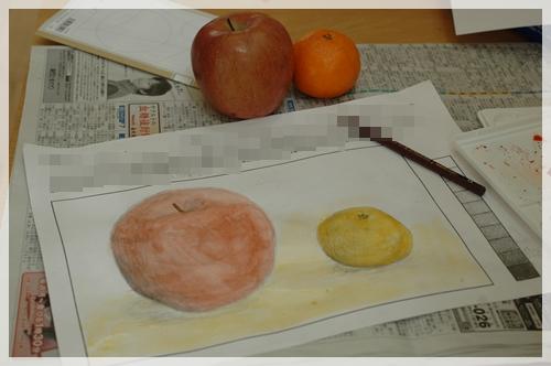 冬休みの美術の宿題