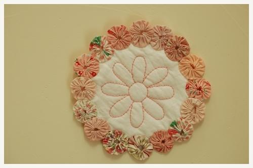 お花のドイリー2