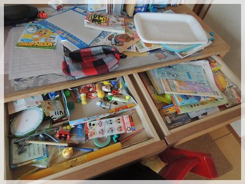 甥っ子の机before