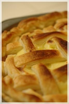 アップルパイを焼いた