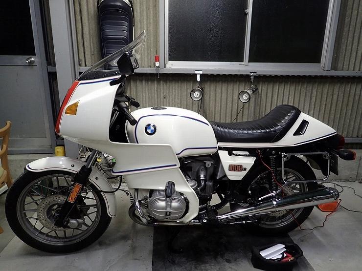 BMW R100RS 赤鼻