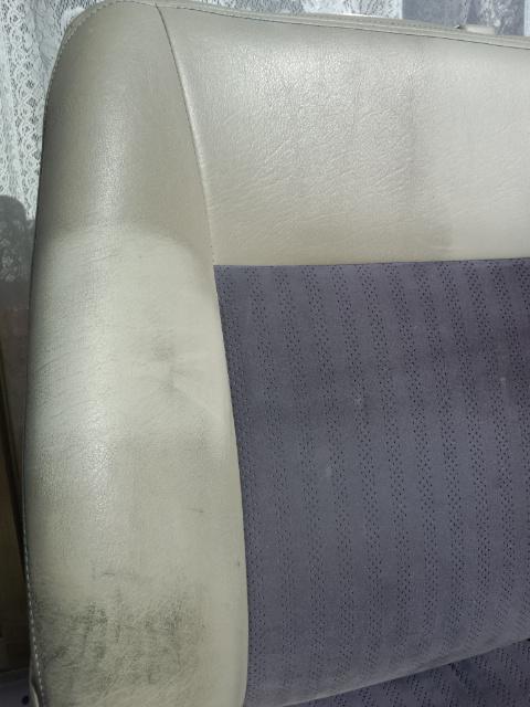 レザーシートの汚れ