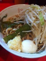 府中二郎麺110908