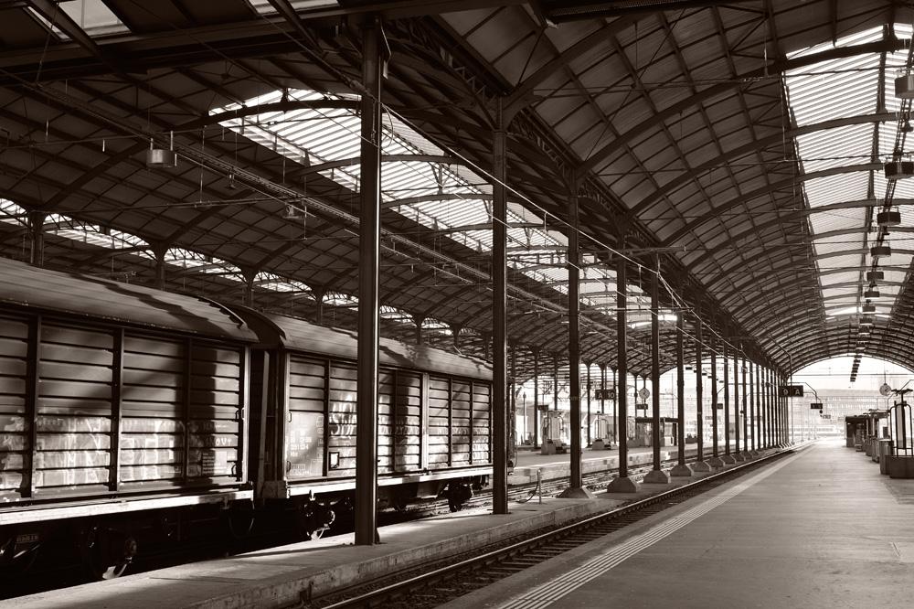 午後のルツェルン駅