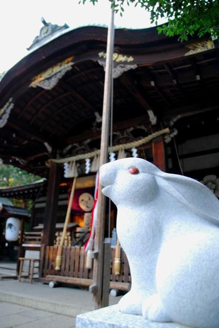 うさぎ神社(岡崎神社)京都