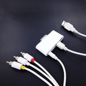 iPad用のAV出力/SDスロット/USB対応アダプタ
