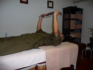 読書の姿勢 仰向け