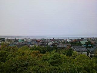 長谷寺から見える湘南の海