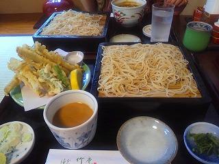鎌倉で食べたそば