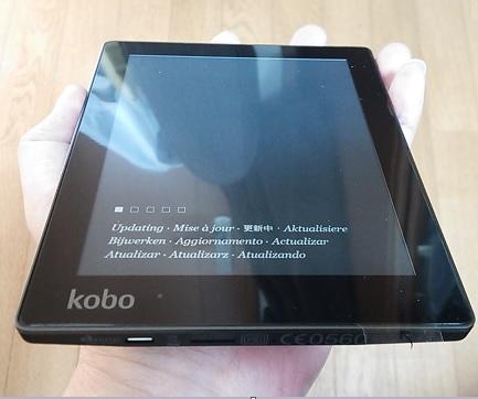 楽天kobo aura フラットスクリーンの評価