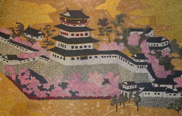 春の小倉城